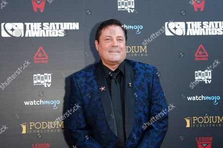 Jeff Rector arrives for the 45th annual Saturn Awards at The Avalon Hollywood in Los Angeles, California, USA, 13 September 2019. The Saturn Awards honors the best in science fiction, fantasy, horror and other genres in film, television, home media releases and theater.