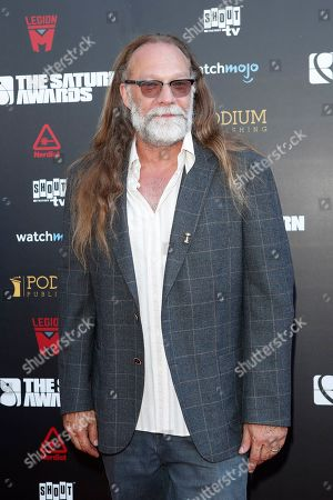 Greg Nicotero arrives for the 45th annual Saturn Awards at The Avalon Hollywood in Los Angeles, California, USA, 13 September 2019. The Saturn Awards honors the best in science fiction, fantasy, horror and other genres in film, television, home media releases and theater.