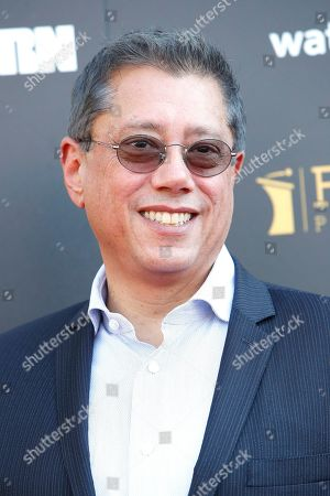 Stock Photo of Dean Devlin arrives for the 45th annual Saturn Awards at The Avalon Hollywood in Los Angeles, California, USA, 13 September 2019. The Saturn Awards honors the best in science fiction, fantasy, horror and other genres in film, television, home media releases and theater.