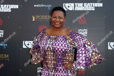 Tonya Pinkins arrives for the 45th annual Saturn Awards at The Avalon Hollywood in Los Angeles, California, USA, 13 September 2019. The Saturn Awards honors the best in science fiction, fantasy, horror and other genres in film, television, home media releases and theater.