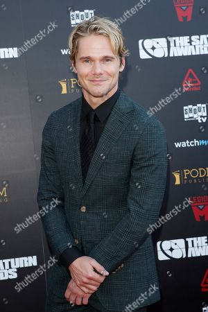 Stock Picture of Michael Nardelli arrives for the 45th annual Saturn Awards at The Avalon Hollywood in Los Angeles, California, USA, 13 September 2019. The Saturn Awards honors the best in science fiction, fantasy, horror and other genres in film, television, home media releases and theater.