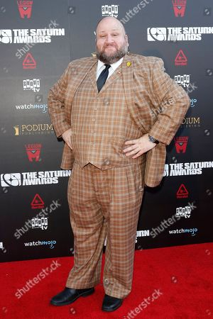 Stephen Kramer Glickman arrives for the 45th annual Saturn Awards at The Avalon Hollywood in Los Angeles, California, USA, 13 September 2019. The Saturn Awards honors the best in science fiction, fantasy, horror and other genres in film, television, home media releases and theater.