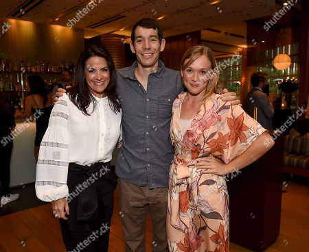 Alex Honnold, Sanni McCandless, Courteney Monroe