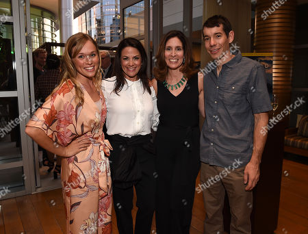 Stock Image of Carolyn Bernstein, Alex Honnold, Sanni McCandless, Courteney Monroe