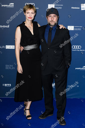 Stock Picture of German actress Katharina Marie Schubert (L) and German actor Bjarne Maedel arrive for the German Drama Award (Deutscher Schauspielpreis) ceremony in Berlin, Germany, 13 September 2019 (issued 14 September 2019).