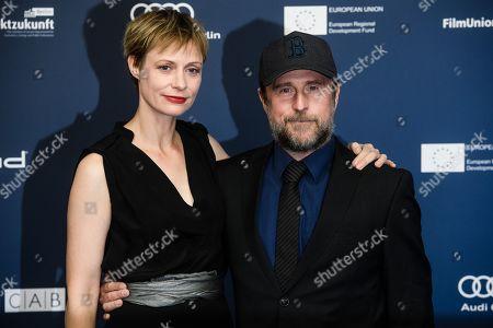 German actress Katharina Marie Schubert (L) and German actor Bjarne Maedel arrive for the German Drama Award (Deutscher Schauspielpreis) ceremony in Berlin, Germany, 13 September 2019 (issued 14 September 2019).