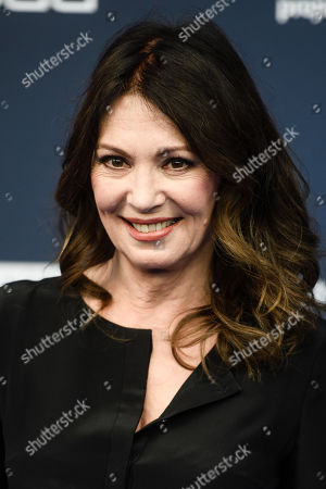 Stock Image of Iris Berben arrives for the German Drama Award (Deutscher Schauspielpreis) ceremony in Berlin, Germany, 13 September 2019 (issued 14 September 2019).