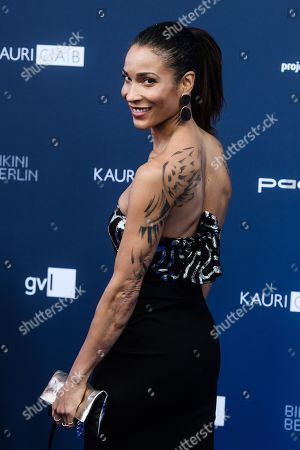 Annabelle Mandeng arrives for the German Drama Award (Deutscher Schauspielpreis) ceremony in Berlin, Germany, 13 September 2019 (issued 14 September 2019).