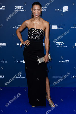 Stock Photo of Annabelle Mandeng arrives for the German Drama Award (Deutscher Schauspielpreis) ceremony in Berlin, Germany, 13 September 2019 (issued 14 September 2019).