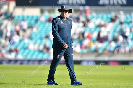England head coach Trevor Bayliss ahead of the 5th International Test Match 2019 match between England and Australia at the Oval, London