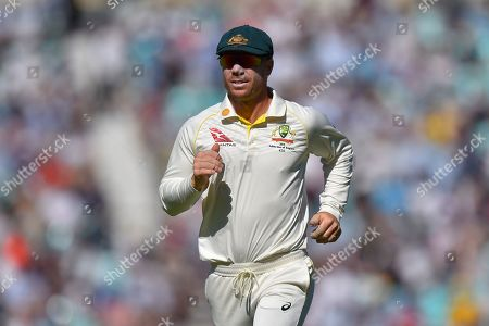 David Warner of Australia during the 5th International Test Match 2019 match between England and Australia at the Oval, London