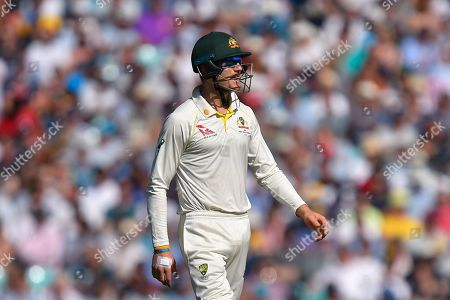 Cameron Bancroft of Australia during the 5th International Test Match 2019 match between England and Australia at the Oval, London