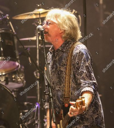 Mike Mills with R.E.M. performs as the opener for Drive-By Truckers at the Fox Theatre during the Benefit for the Fox Theatre Institute, in Atlanta