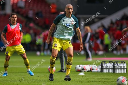 Oriol Romeu of Southampton during the Premier League match between Sheffield United and Southampton at Bramall Lane, Sheffield