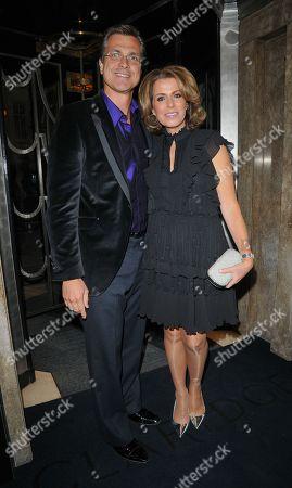 Stock Picture of Natasha Kaplinsky and Justin Bower