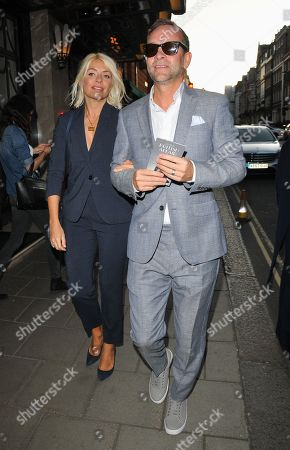 Stock Photo of Holly Willoughby and Daniel Baldwin