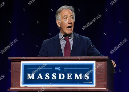 House Ways and Means Chairman, U.S. Rep. Richard Neal, speaks to delegates during the 2019 Massachusetts Democratic Party Convention, in Springfield, Mass