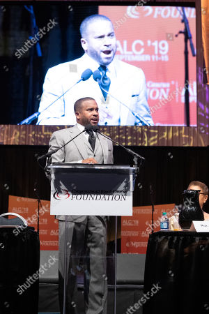 Howard John Wesley attends the Prayer Breakfast at 'ALC 19' CBCF Annual Legislative Conference