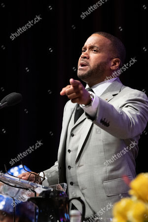 Stock Photo of Howard John Wesley attends the Prayer Breakfast at 'ALC 19' CBCF Annual Legislative Conference