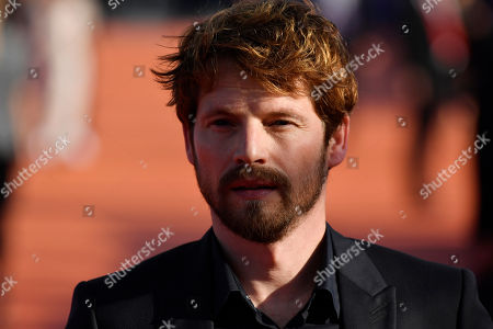 Stock Picture of Pierre Deladonchamps arrives on the red carpet prior to the premiere of 'Cuban Network' during the 45th Deauville American Film Festival, in Deauville, France, 14 September 2019. The festival runs from 06 to 15 September 2019.