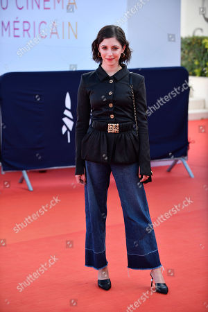 Annabelle Attanasio arrives on the red carpet prior to the premiere of 'Cuban Network' during the 45th Deauville American Film Festival, in Deauville, France, 14 September 2019. The festival runs from 06 to 15 September 2019.