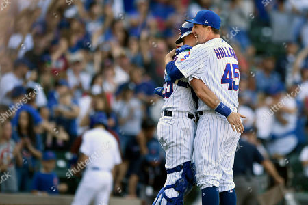 Editorial picture of Pirates Cubs Baseball, Chicago, USA - 14 Sep 2019