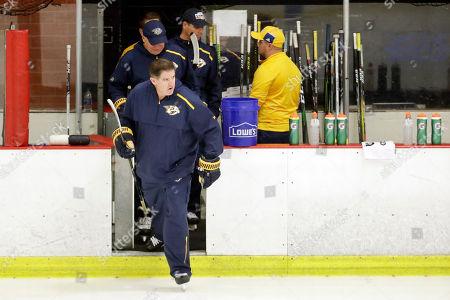 Editorial image of Predators Camp Hockey, Nashville, USA - 14 Sep 2019