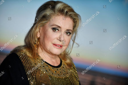 French actress and president of the Jury Catherine Deneuve poses during a photocall of the winners during the 45th Deauville American Film Festival, in Deauville, France, 14 September 2019. The festival runs from 06 to 15 September 2019.
