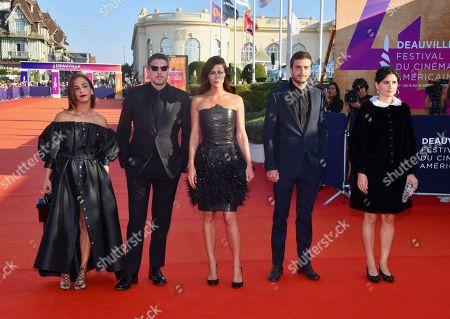 Stock Photo of Alice Belaidi, Damien Bonnard, Anna Mouglalis, Romain Kolinka and Marie Louise Khondji