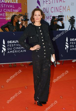 Editorial photo of Award Ceremony, Arrivals, 45th Deauville American Film Festival, France - 14 Sep 2019