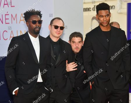 Ladj Ly, Alexis Manenti, Damien Bonnard and Djebril Zonga