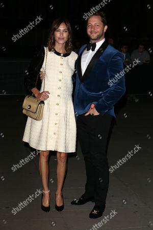 Alexa Chung and Derek Blasberg