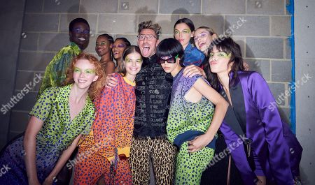 Editorial image of House of Holland show, Backstage, Spring Summer 2020, London Fashion Week, UK - 14 Sep 2019