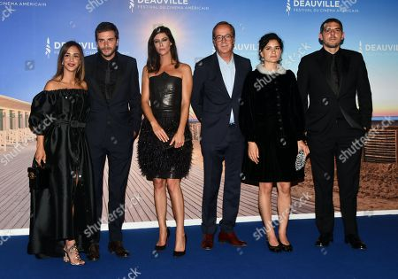 Alice Belaidi, Roman Kolinka, Anna Mouglalis, Frederic Rouzaud, Marie-Louise Khondji and Damien Bonnard