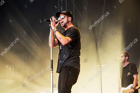 Ryan Tedder of OneRepublic performs during KAABOO 2019 at the Del Mar Racetrack and Fairgrounds, in San Diego, Calif
