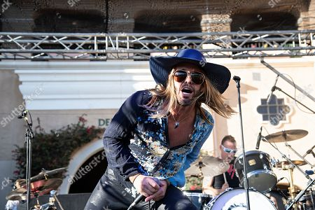 Taylor Hawkins of Chevy Metal performs during KAABOO 2019 at the Del Mar Racetrack and Fairgrounds, in San Diego, Calif
