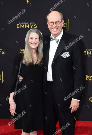 Ann Tobolowsky, Stephen Tobolowsky. Ann Tobolowsky, left, and Stephen Tobolowsky arrive at night one of the Television Academy's 2019 Creative Arts Emmy Awards, at the Microsoft Theater in Los Angeles