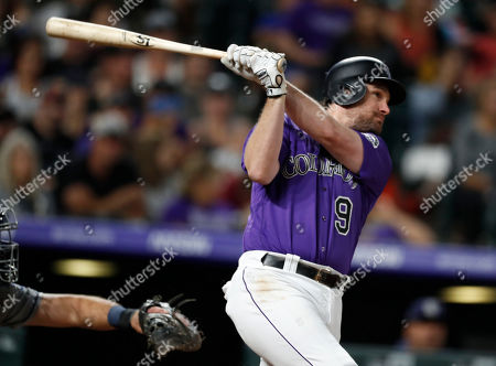 Editorial picture of Padres Rockies Baseball, Denver, USA - 14 Sep 2019