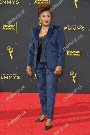 Wanda Sykes arrives at night one of the Creative Arts Emmy Awards, at the Microsoft Theater in Los Angeles
