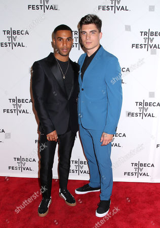 Lucien Laviscount and Zane Holtz