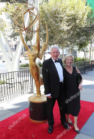 Keith Scholey. Nominees and guests arrive at night one of the Television Academy's 2019 Creative Arts Emmy Awards, at the Microsoft Theater in Los Angeles