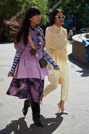 Susie Bubble and Tiffany Hsu