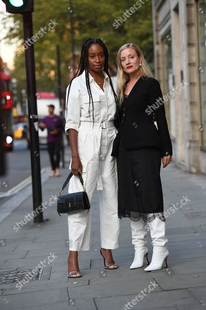 Editorial photo of Street Style, Spring Summer 2020, London Fashion Week, UK - 14 Sep 2019