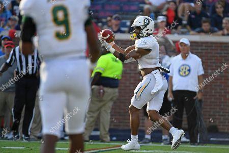 Editorial photo of SE Louisiana Mississippi Football, Oxford, USA - 14 Sep 2019