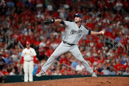 Editorial photo of Brewers Cardinals Baseball, St. Louis, USA - 14 Sep 2019