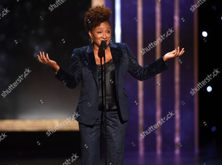 Wanda Sykes speaks on stage on night one of the Television Academy's 2019 Creative Arts Emmy Awards, at the Microsoft Theater in Los Angeles