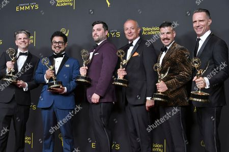 Editorial image of 2019 Creative Arts Emmy Awards - Night One - Press Room, Los Angeles, USA - 14 Sep 2019