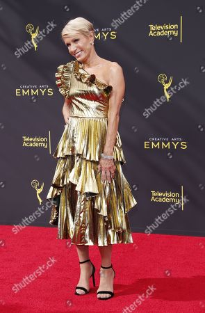 Stock Picture of Barbara Corcoran arrives on the red carpet for the 2019 Creative Arts Emmy Awards at the Microsoft Theater in Los Angeles, California, USA, 14 September 2019. The Creative Arts Emmy Awards honor excellence in Television technical categories such as makeup, casting direction, costume design, editing and cinematography. The 71st Primetime Emmy Awards Ceremony will take place on 22 September 2019.
