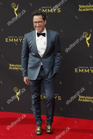 Dan Bucatinsky arrives on the red carpet for the 2019 Creative Arts Emmy Awards at the Microsoft Theater in Los Angeles, California, USA, 14 September 2019. The Creative Arts Emmy Awards honor excellence in Television technical categories such as makeup, casting direction, costume design, editing and cinematography. The 71st Primetime Emmy Awards Ceremony will take place on 22 September 2019.