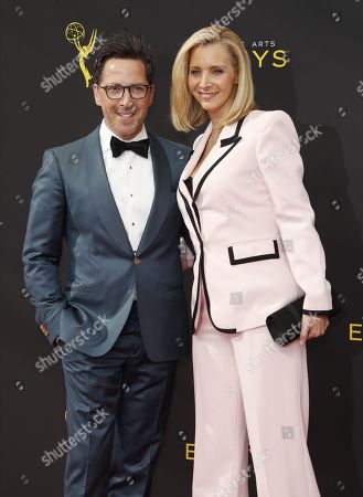 Dan Bucatinsky and Lisa Kudrow arrives on the red carpet for the 2019 Creative Arts Emmy Awards at the Microsoft Theater in Los Angeles, California, USA, 14 September 2019. The Creative Arts Emmy Awards honor excellence in Television technical categories such as makeup, casting direction, costume design, editing and cinematography. The 71st Primetime Emmy Awards Ceremony will take place on 22 September 2019.